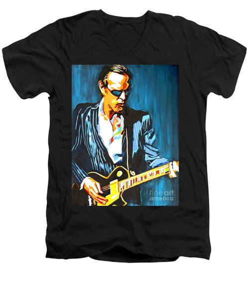 Joe Bonamassa. Hummingbird Men's V-Neck T-Shirt