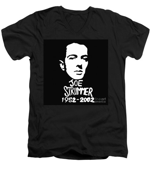Joe Strummer Men's V-Neck T-Shirt
