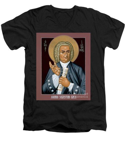 Johann Sebastian Bach - Rljsb Men's V-Neck T-Shirt