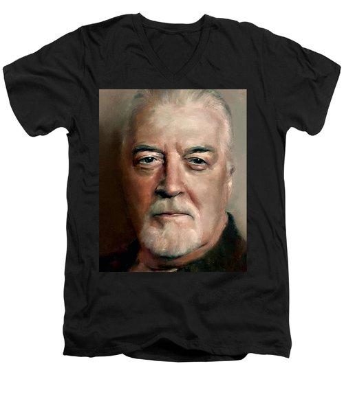 Jon Lord Deep Purple Portrait 8 Men's V-Neck T-Shirt
