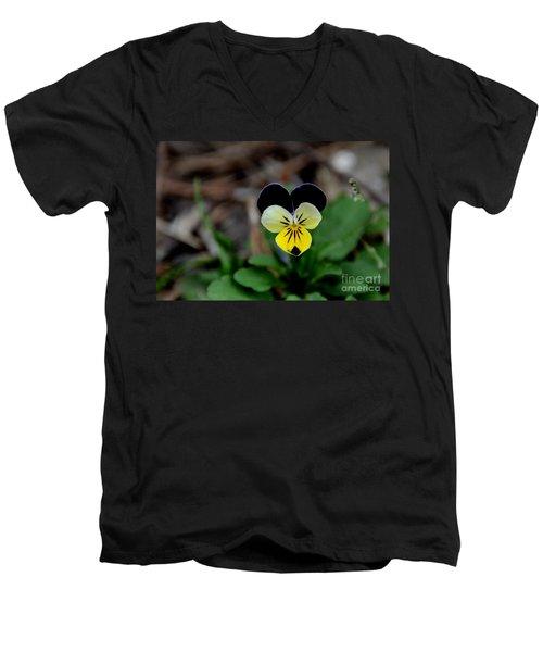 Jonny Jump Up - Relative To A Pansy Men's V-Neck T-Shirt