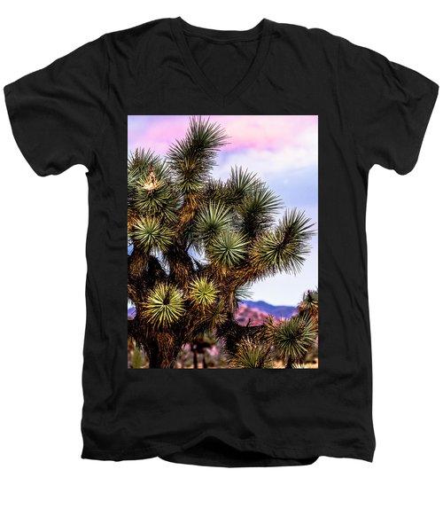 Joshua Tree Sunset Men's V-Neck T-Shirt