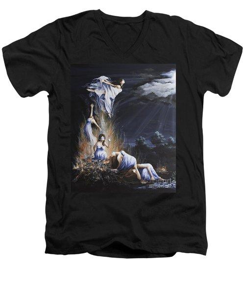Journey Into Self Female Men's V-Neck T-Shirt