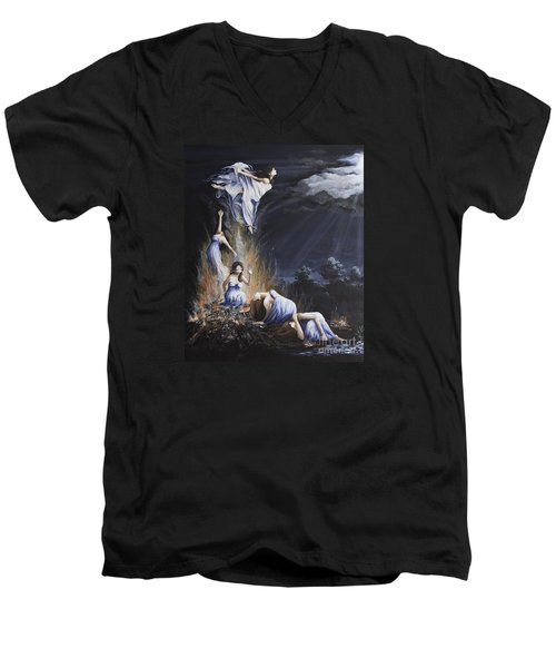 Journey Into Self Female Men's V-Neck T-Shirt