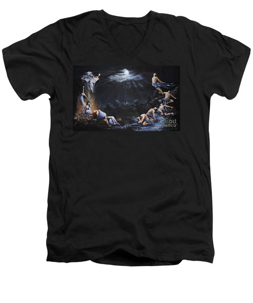 Journey Into Self Men's V-Neck T-Shirt