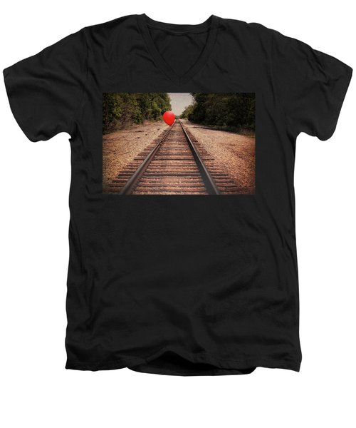 Journey Men's V-Neck T-Shirt