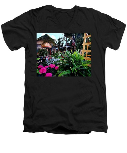 Joys Patio Men's V-Neck T-Shirt