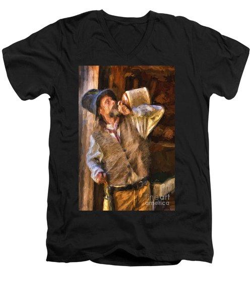 Jug Men's V-Neck T-Shirt