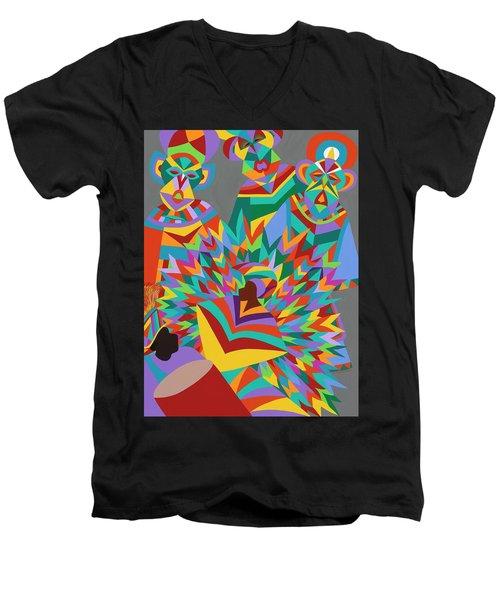 Junkanoo Men's V-Neck T-Shirt