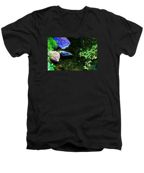 Just  A  Little  Zen -  Image  2 Men's V-Neck T-Shirt