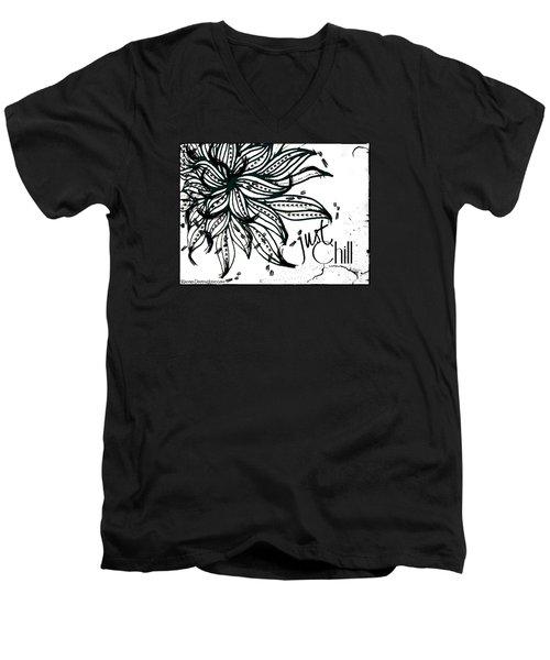 Just Chill Men's V-Neck T-Shirt