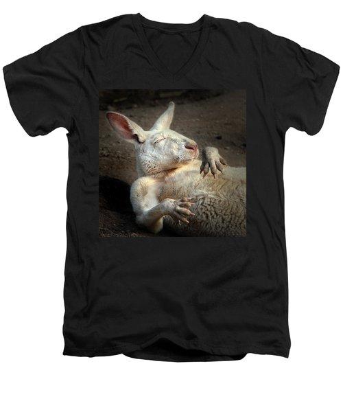 Just Chilling Men's V-Neck T-Shirt