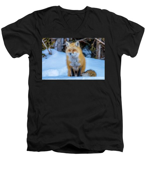 Just Watching Men's V-Neck T-Shirt