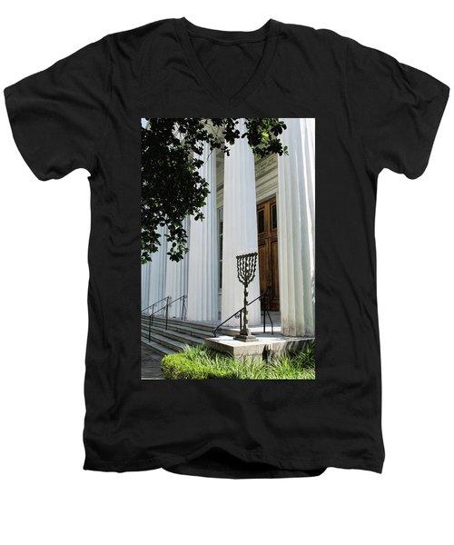 Kahal Kadosh Beth Elohim Men's V-Neck T-Shirt