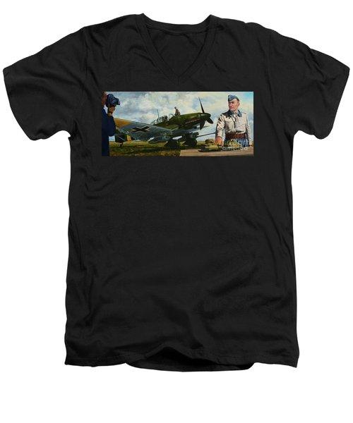 Kamerad Hans - Ulrich Men's V-Neck T-Shirt