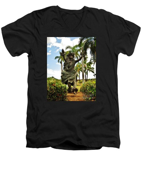 Kapo Men's V-Neck T-Shirt by Craig Wood