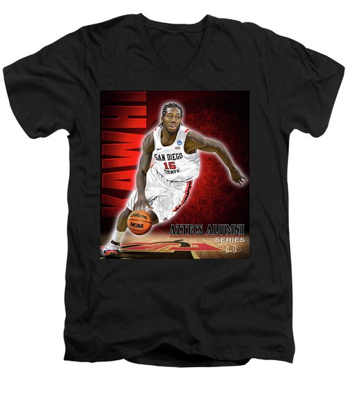 Kawhi Men's V-Neck T-Shirt