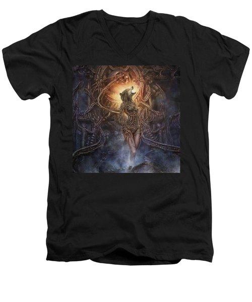 Kebechets Rebirth Men's V-Neck T-Shirt