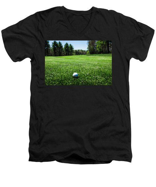 Keep Your Eye On The Ball Men's V-Neck T-Shirt
