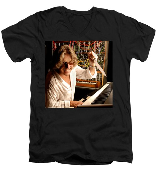 Keith Emerson By Gene Martin Men's V-Neck T-Shirt