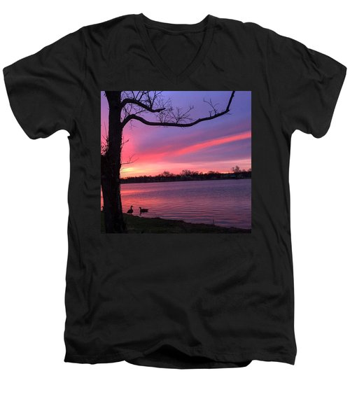 Kentucky Dawn Men's V-Neck T-Shirt by Sumoflam Photography