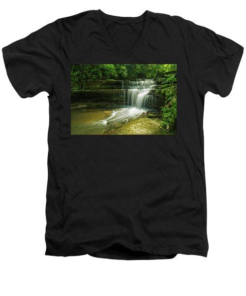 Kentucky Waterfalls Men's V-Neck T-Shirt