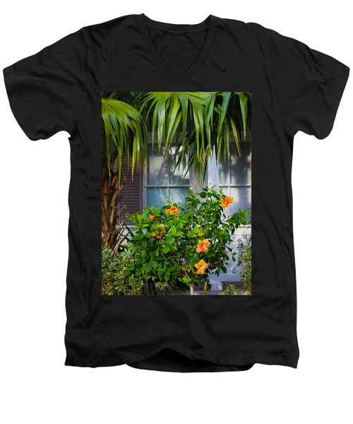 Key West Garden Men's V-Neck T-Shirt