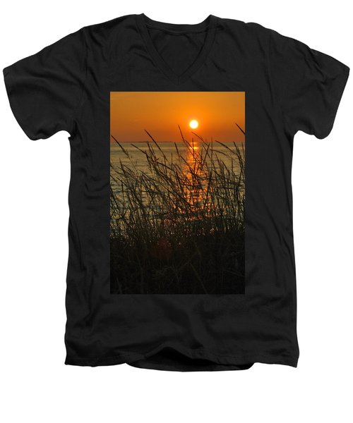 Key West Sunset Men's V-Neck T-Shirt