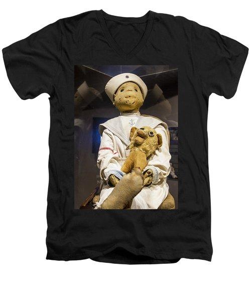 Key Wests Robert The Doll Men's V-Neck T-Shirt