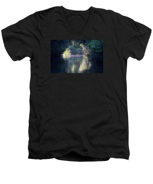 Kiss The Girl Men's V-Neck T-Shirt