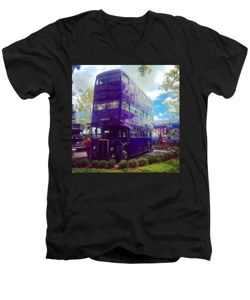 The Knight Bus Men's V-Neck T-Shirt