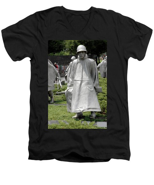 Korean War Memorial Men's V-Neck T-Shirt