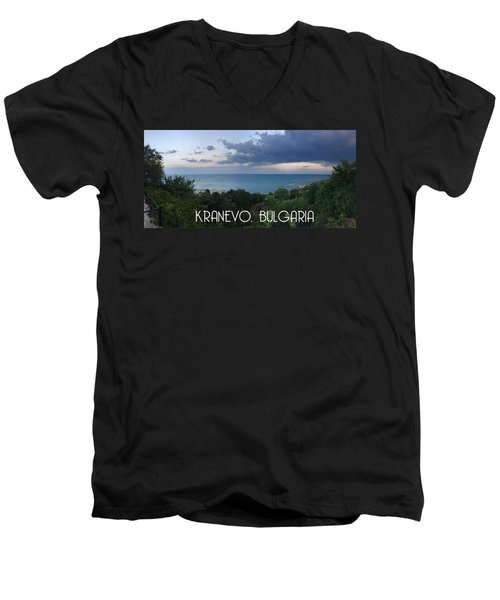 Kranevo Bulgaria Men's V-Neck T-Shirt