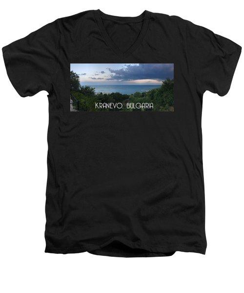 Kranevo Bulgaria Men's V-Neck T-Shirt