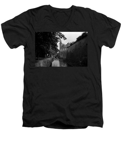 Kronborg Castle Is Hamlets Castle Men's V-Neck T-Shirt