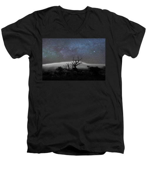 Kumulipo And The Sky Men's V-Neck T-Shirt