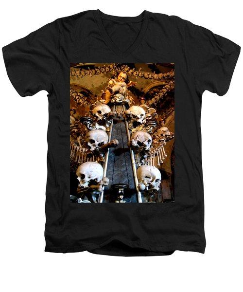 Kutna Hora Cz Men's V-Neck T-Shirt