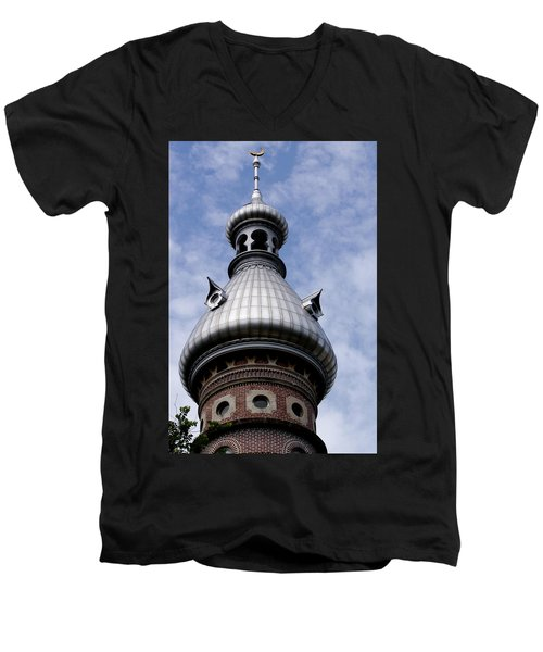 La Cupola Men's V-Neck T-Shirt by Ivete Basso Photography