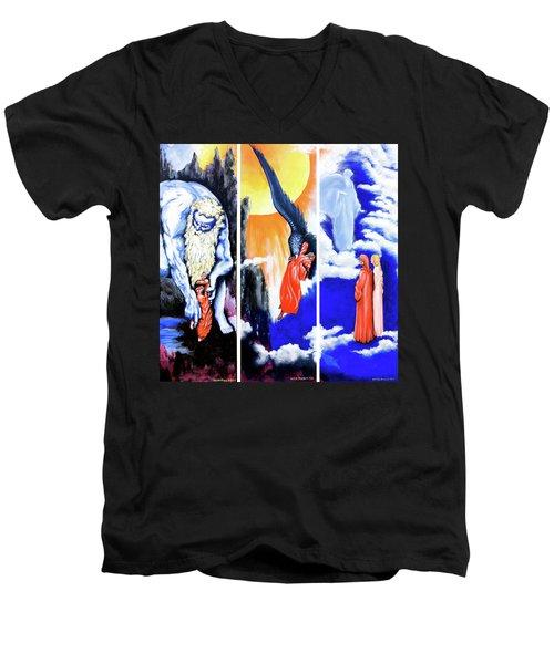 La Divina Commedia Men's V-Neck T-Shirt