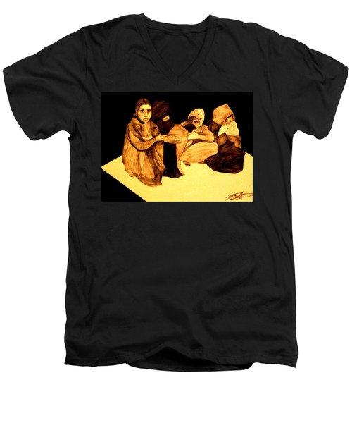 La It Khafeen Habibti Men's V-Neck T-Shirt