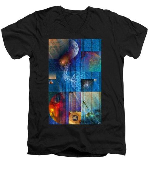 La Signatura Men's V-Neck T-Shirt