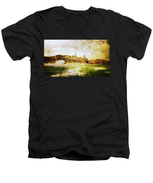 La Valletta Men's V-Neck T-Shirt