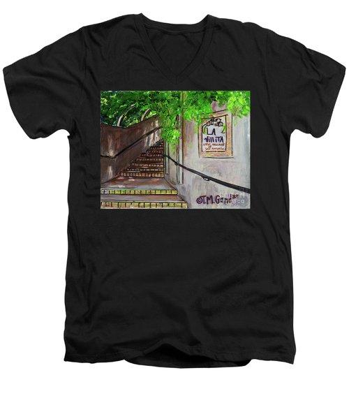 La Villita Men's V-Neck T-Shirt