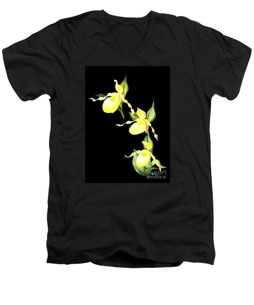 Ladies Trio Men's V-Neck T-Shirt
