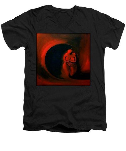 Lady Willendorf Men's V-Neck T-Shirt