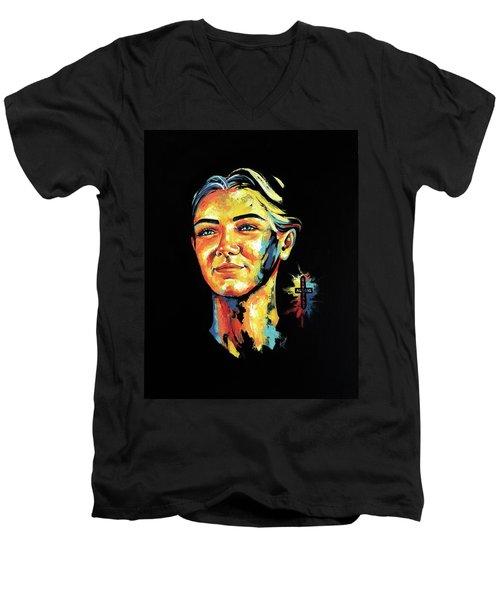 Laerke Men's V-Neck T-Shirt
