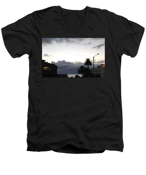 Laguna Rain 2015 Men's V-Neck T-Shirt by Dan Twyman