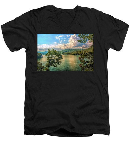 Lake Burton Men's V-Neck T-Shirt