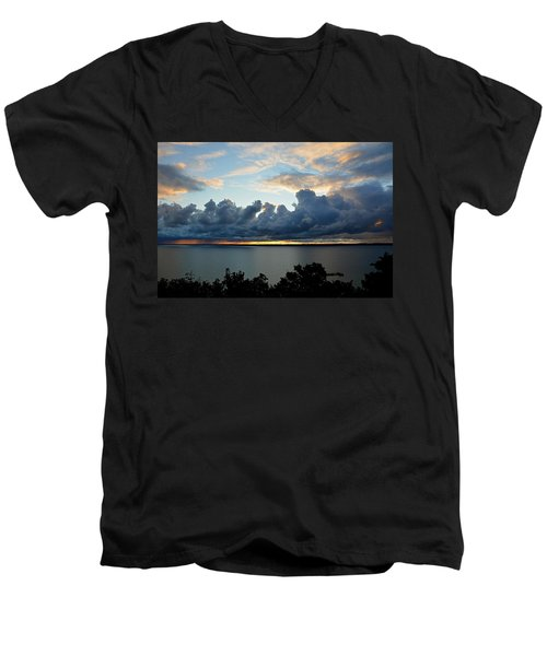 Lake Effect Sky Men's V-Neck T-Shirt