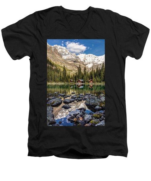 Lake O'hara Lodge Men's V-Neck T-Shirt